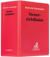 C.H.Beck, Steuerrichtlinien