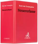 C.H.Beck, Steuererlasse