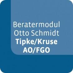 Beratermodul Tipke/Kruse AO/FGO