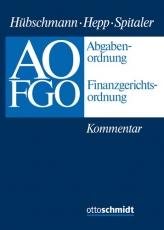 Hübschmann/Hepp/Spitaler, Abgabenordnung - Finanzgerichtsordnung
