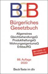 DTV, Bürgerliches Gesetzbuch: BGB (86. Auflage 2020)