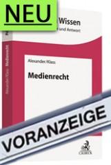 Alexander/Klass, Medienrecht