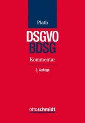 Plath, DSGVO/BDSG