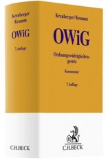 Krenberger/Krumm, Ordnungswidrigkeitengesetz: OWiG