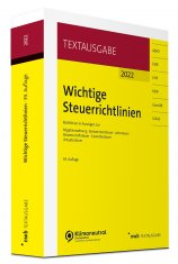 Walkenhorst, Wichtige Steuerrichtlinien