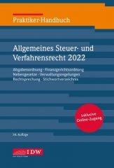 IDW, Praktiker-Handbuch Allgemeines  Steuer- und Verfahrensrecht 2019