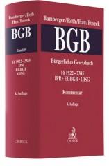 Bamberger/Roth/Hau/Poseck, Bürgerliches Gesetzbuch: BGB, Band 5