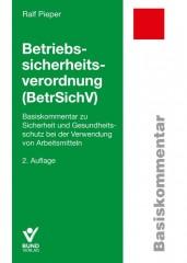 Pieper, Betriebssicherheitsverordnung (BetrSichV)
