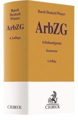 Baeck/Deutsch/Winzer, Arbeitszeitgesetz: ArbZG