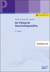Kliewer/Zschenderlein, Die Prüfung der Steuerfachangestellten