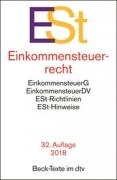 DTV, Einkommensteuerrecht: ESt (32. Auflage 2018)