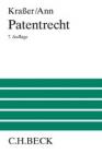 Kraßer/Ann, Patentrecht