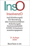 DTV, Insolvenzordnung: InsO (21. Auflage 2020)