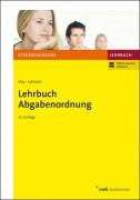 Hey/Lehnert, Lehrbuch Abgabenordnung