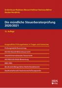 Grobshäuser/Radeisen, Die mündliche Steuerberaterprüfung 2020/2021