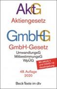 DTV, Aktiengesetz, GmbH-Gesetz: AktG GmbHG (48. Auflage 2020)