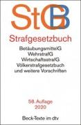 DTV, Strafgesetzbuch: StGB (58. Auflage 2020)