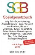 DTV, Sozialgesetzbuch mit Sozialgerichtsgesetz: SGB (49. Auflage 2020)