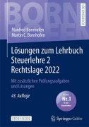 Bornhofen, Steuerlehre 2 Rechtslage 2018
