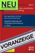 Sager/Schimpf/Klein/Maus, Abgabenordnung und Finanzgerichtsordnung - Vorbereitung auf die schriftliche Steuerberaterprüfung