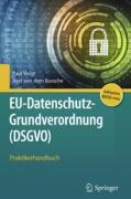Voigt, EU-Datenschutz-Grundverordnung (DSGVO)