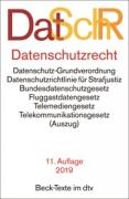 DTV, DatSchR: Datenschutzrecht (11. Auflage 2019)