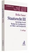 Sauer, Staatsrecht III