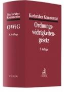 Mitsch, Karlsruher Kommentar zum Gesetz über Ordnungswidrigkeiten: OWiG