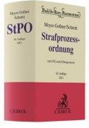 Meyer-Goßner/Schmitt, Strafprozessordnung: StPO