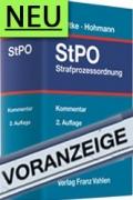 Radtke/Hohmann, Strafprozessordnung: StPO