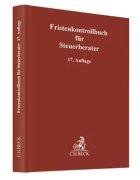 Weiler, Fristenkontrollbuch für Steuerberater