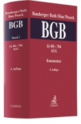 Bamberger/Roth/Hau/Poseck, Bürgerliches Gesetzbuch: BGB, Band 2: §§ 481-704 - AGG