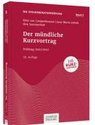 von Campenhausen/Liebelt/Sommerfeld, Der mündliche Kurzvortrag