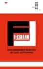 Felsmann, Einkommensbesteuerung der Land- und Forstwirte
