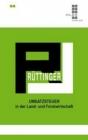 Rüttinger, Umsatzsteuer in der Land- und Forstwirtschaft
