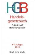 DTV, Handelsgesetzbuch: HGB (65. Auflage 2020)