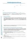 M1 Vollständigkeitserklärung Jahresabschluss und Lagebericht für die Prüfung von Jahresabschlüssen - BilRUG